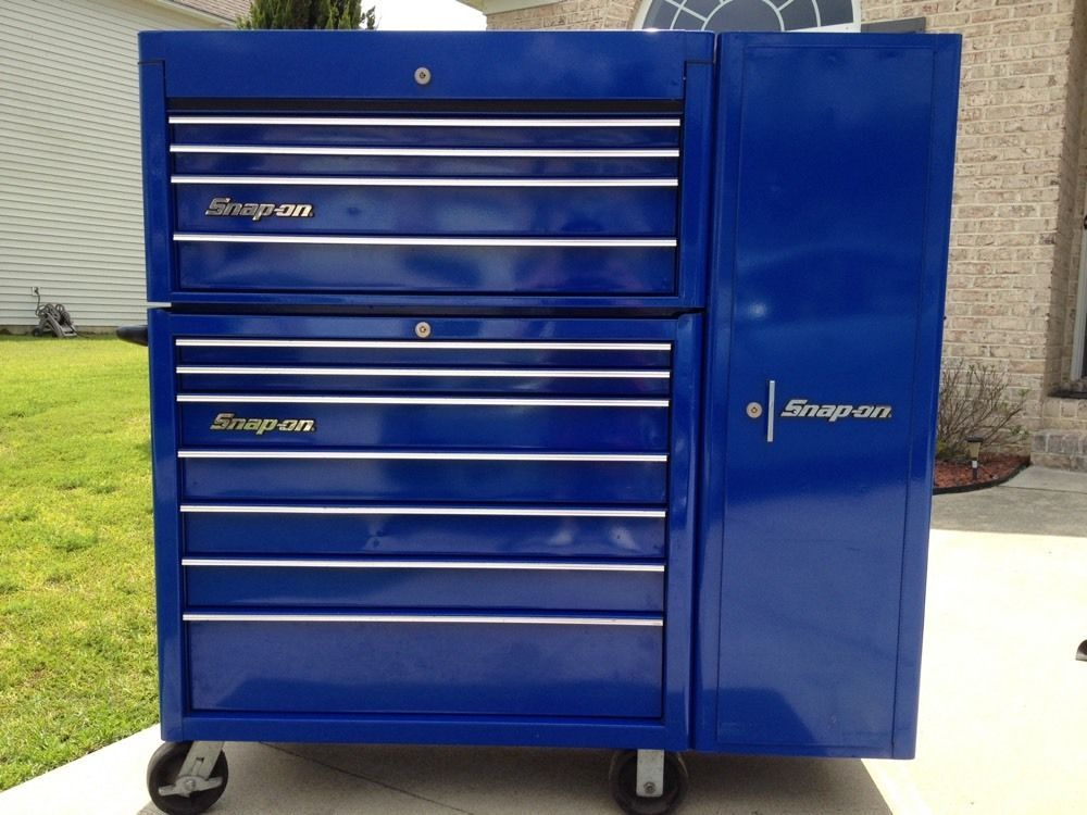 Snap On Tool Box Set Top Chest Locker And Roll Cab Tool Box Diy Tool Box Tool Box Organization