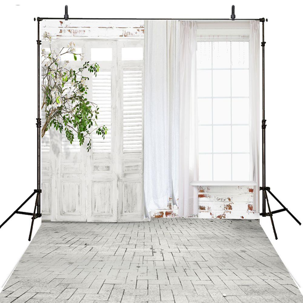 Curtain wedding photography backdrop vinyl backdrop for photography white background for photo studio wedding fotohintergrund affiliate