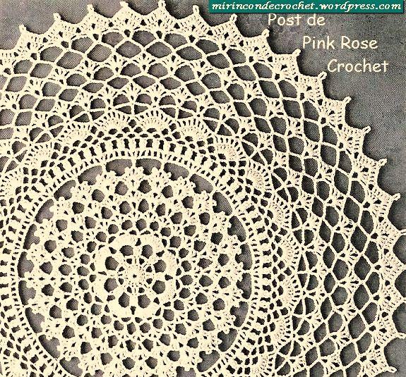 Free Crochet Doily Patterns Crochet Doily Patterns Pinterest