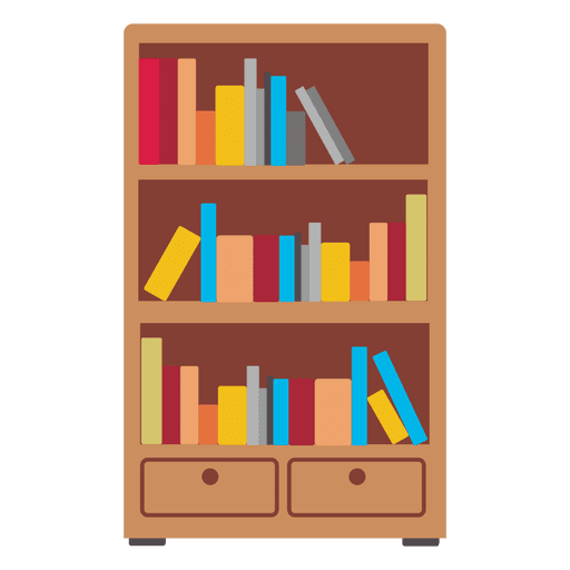Wooden Bookshelf Icon Ad Paid Sponsored Icon Bookshelf Wooden Digital Illustration Tutorial Book Clip Art Bookshelf Art
