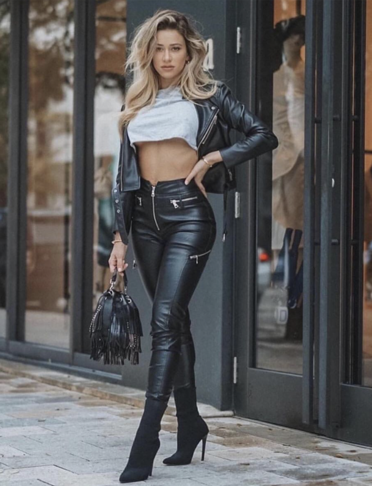 Buy Our Lennon Pant in Black Online Today! #leatherpantsoutfit