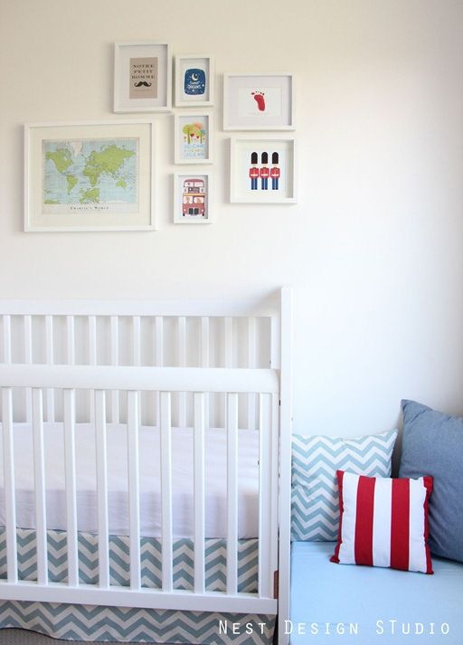 Baby Boy Room Themes Travel: Baby Boy Nursery Ideas: Travel Around The World Theme