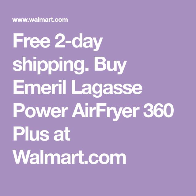 Emeril Lagasse Power Airfryer 360 Plus Walmart Com Emeril