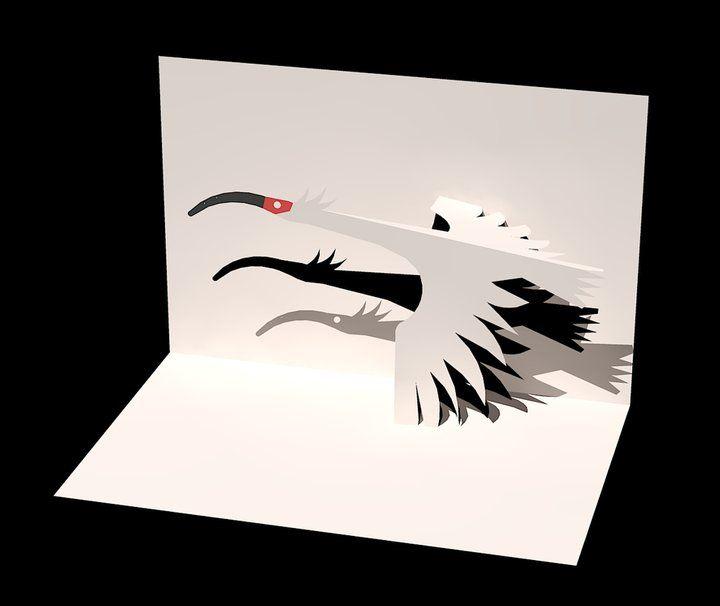 Жду скучаю, киригами открытка одиночество