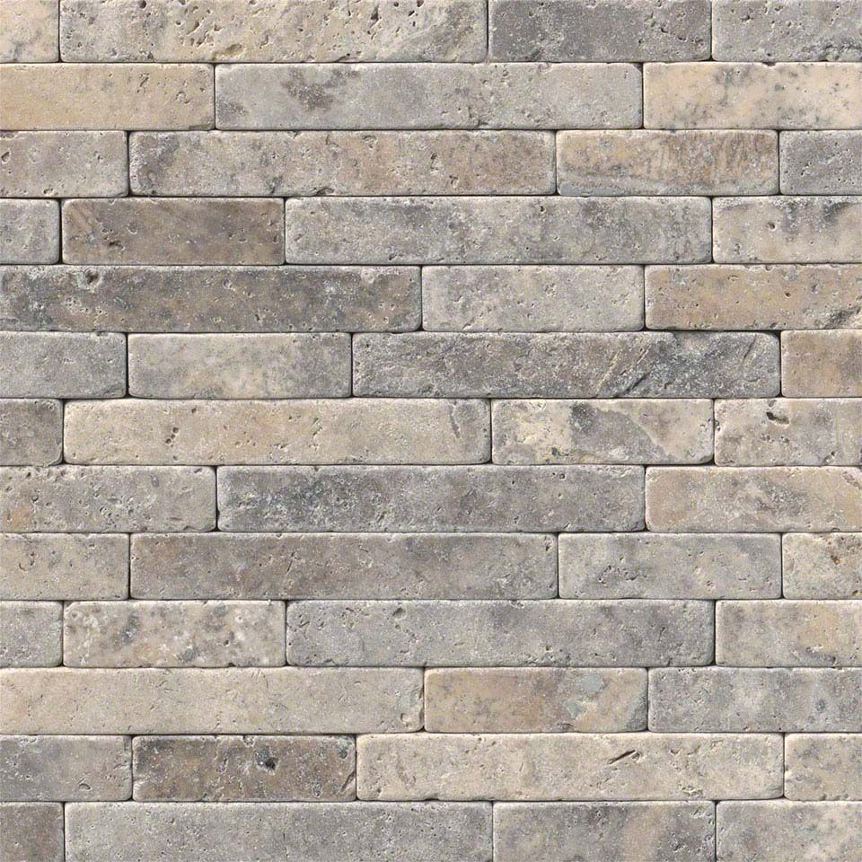 Silver Ash Tumbled Veneer 8x18 | Fireplace | Pinterest