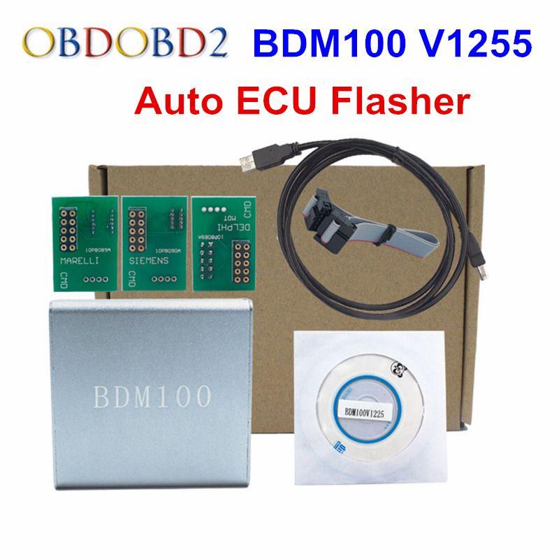 Free Ship ECU Programmer BDM 100 BDM100 OBD2 ECU Chip Tuning