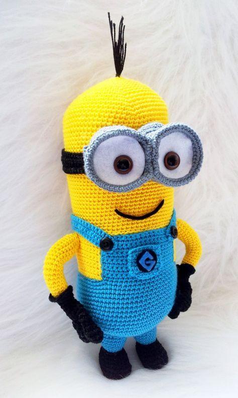 Amigurumi Minion selber häkeln - DIY Minion | häkeln | Pinterest ...