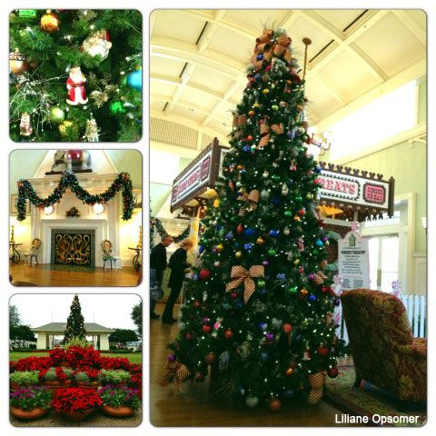 Disney S Boardwalk Inn Decked Out For The Holidays Disney