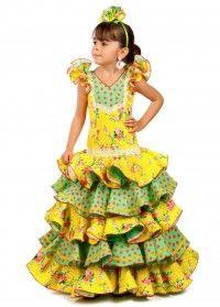 671c03440 vestido flamenco modelo MARAVILLA (TALLA 0)