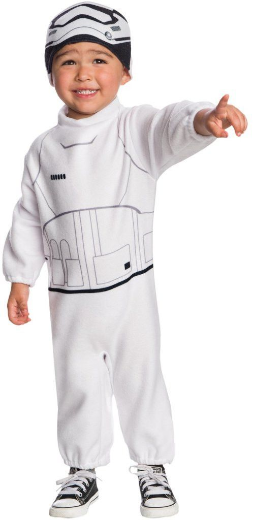 star wars: the force awakens - stormtrooper toddler costume 2t-4t