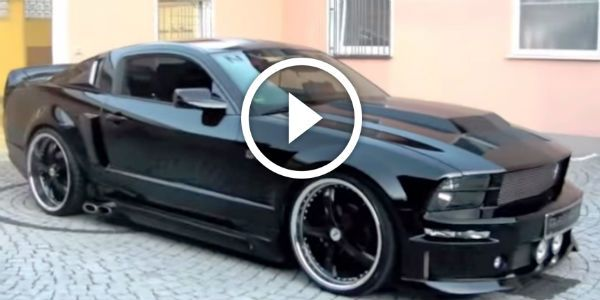 Another Excellent Modification Of The 2005 Ford Mustang Eleanor This Unique Custom Made Conversion Costs 28 000 Cer