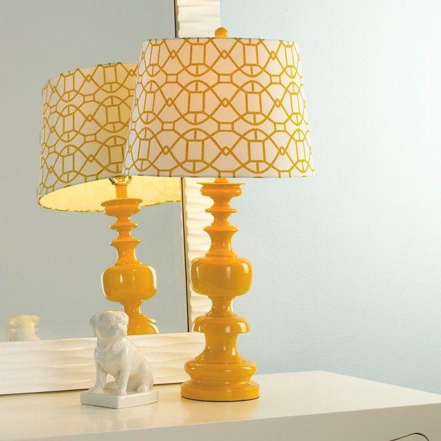 Yellow Table Lamp Shades