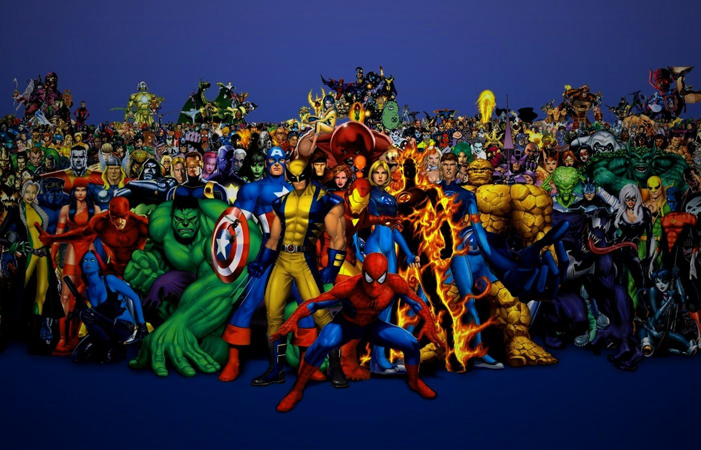 Hd Wallpapers Marvel Characters Cartoon Anime Wallpaper