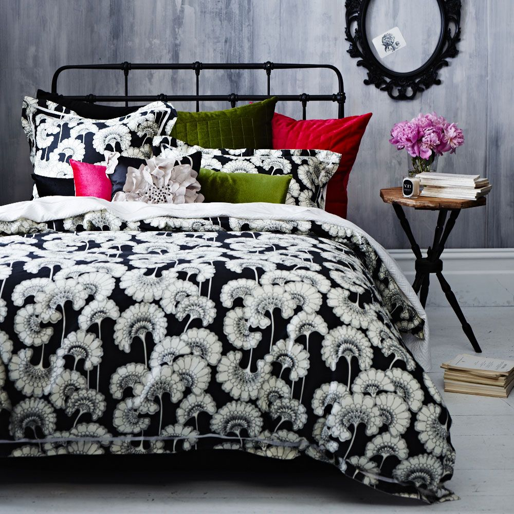Kate Spade Duvet Cover King Size Quilt Cover Japanese Floral By Florence Broadhurst