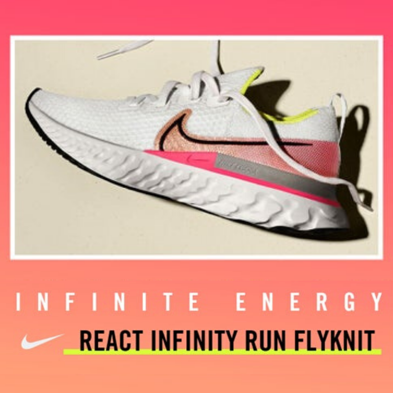 Women's Nike React Infinity Run Flyknit