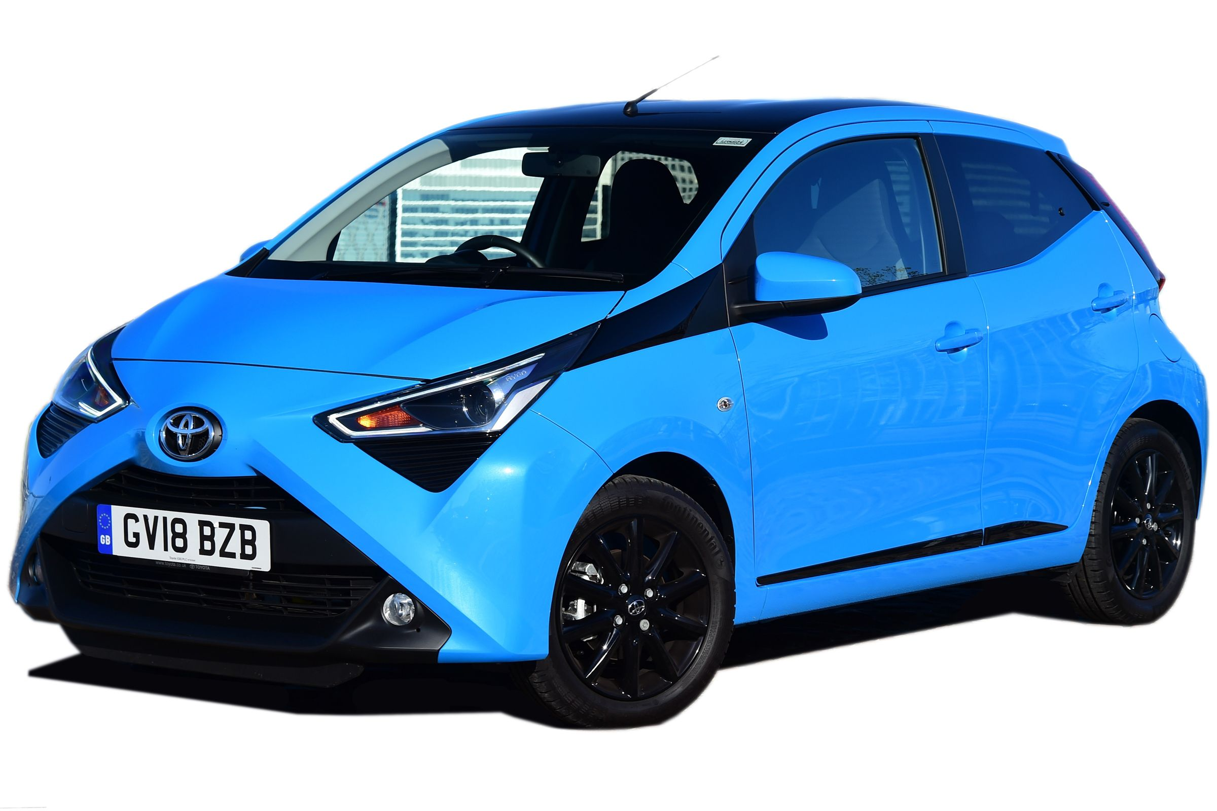 The Toyota Aygo Has A Bold Design Thrifty Engine And Comes In A