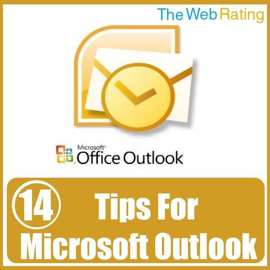 14 Handy Tips For Microsoft Outlook Technology Pinterest