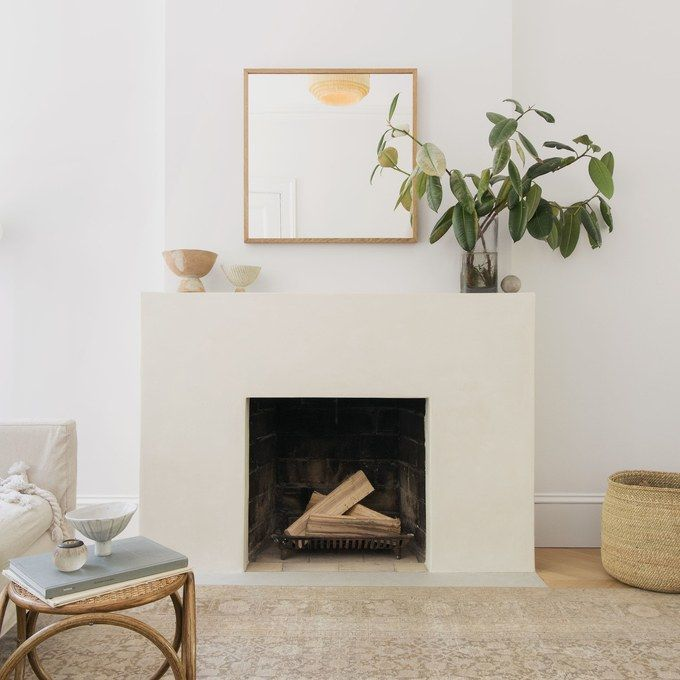 10 Ways To Add Character To The Plain White Box You Call Home Simple Fireplace Minimalist Fireplace Fireplace Surrounds