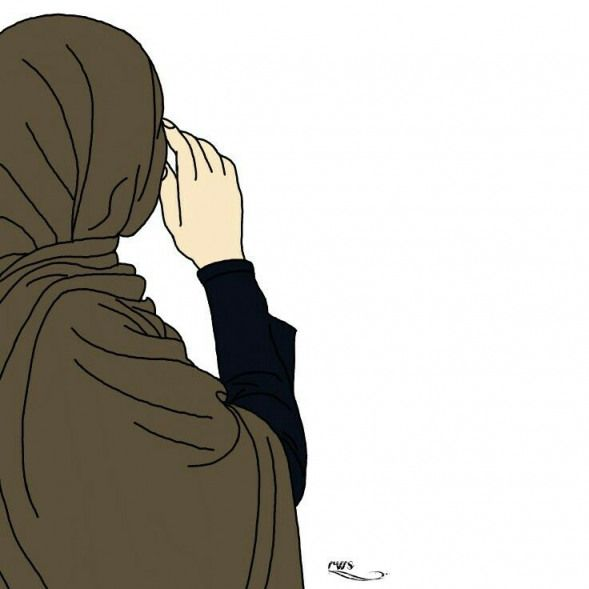 Hijab Cartoon Wallpaper Aesthetic Girl Hijab Novocom Top