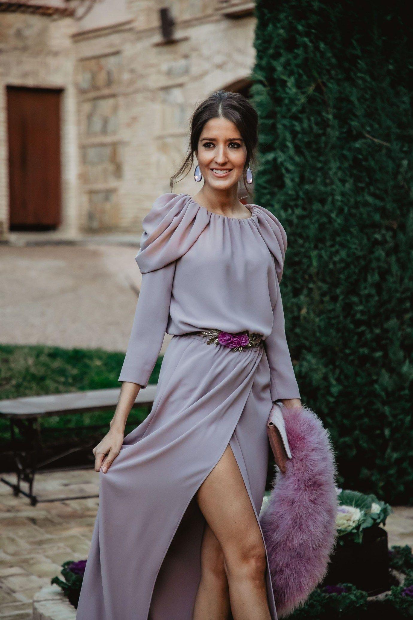 Vestidos para boda de dia en invierno 2019