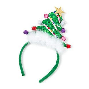Christmas Tree Headband Christmas Tree Headband Christmas Headband Christmas Headpiece
