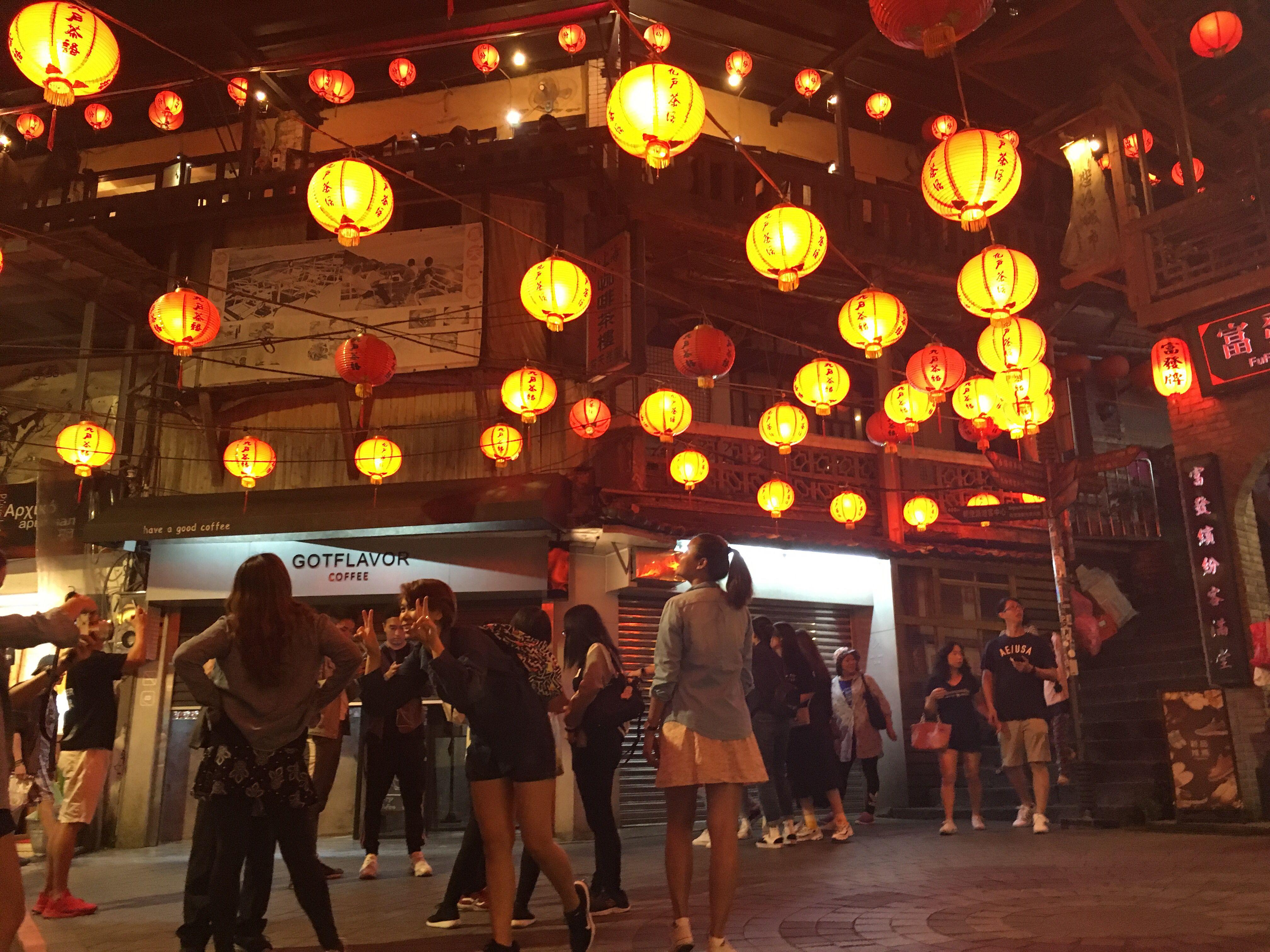 Spirited Away Juifen Street