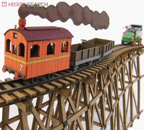 Castle in the Sky Model Train Set