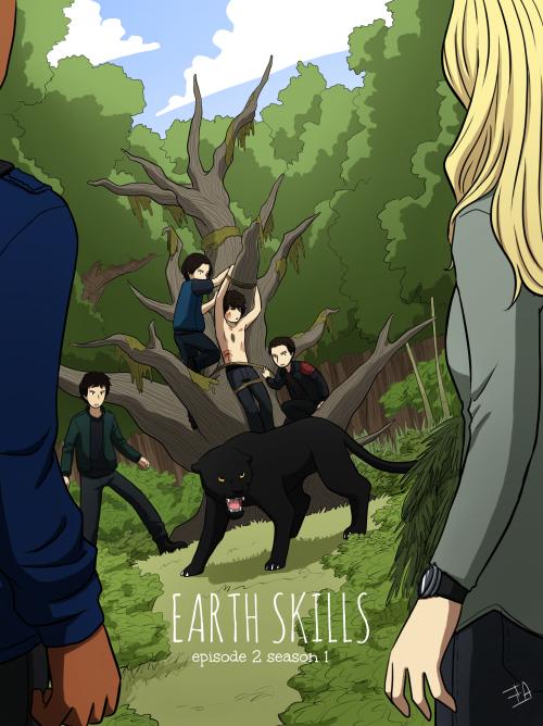 the100art The 100 - Season 1 ep 2 'Earth Skills'