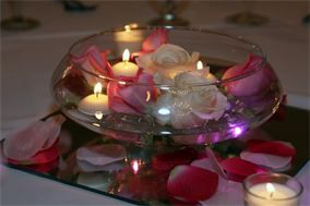 Shallow Wide Mouth Bowl Centerpieces Google Search Floating