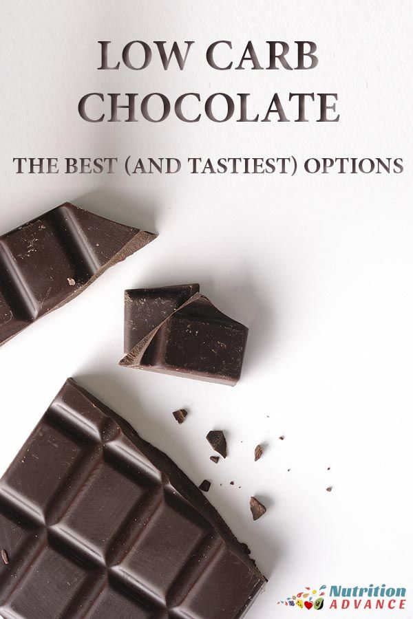 Low Carb Chocolate: 8 Best Dark Chocolate Bars and Brands | * Top