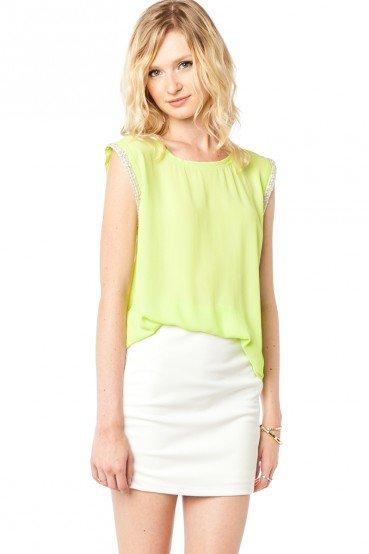 #ShopSosie                #Skirt                    #Jada #Skirt #White #ShopSosie.com                  Jada Skirt in White - ShopSosie.com                                           http://www.seapai.com/product.aspx?PID=985581