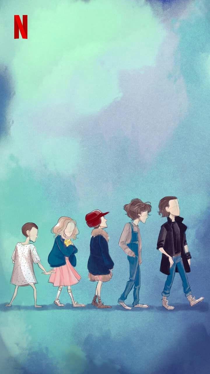 Evolution Of Eleven Stranger Things Stranger Things Art Stranger Things Fanart Eleven Stranger Things