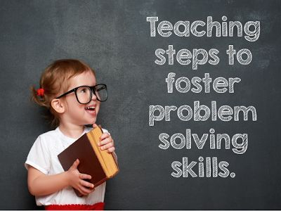 problem solving steps for students to become independent problem solvers