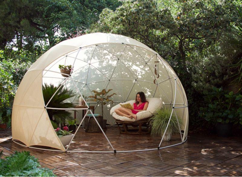 Abri de jardin Garden Igloo Hiver - 10 m² - Abri PVC ...