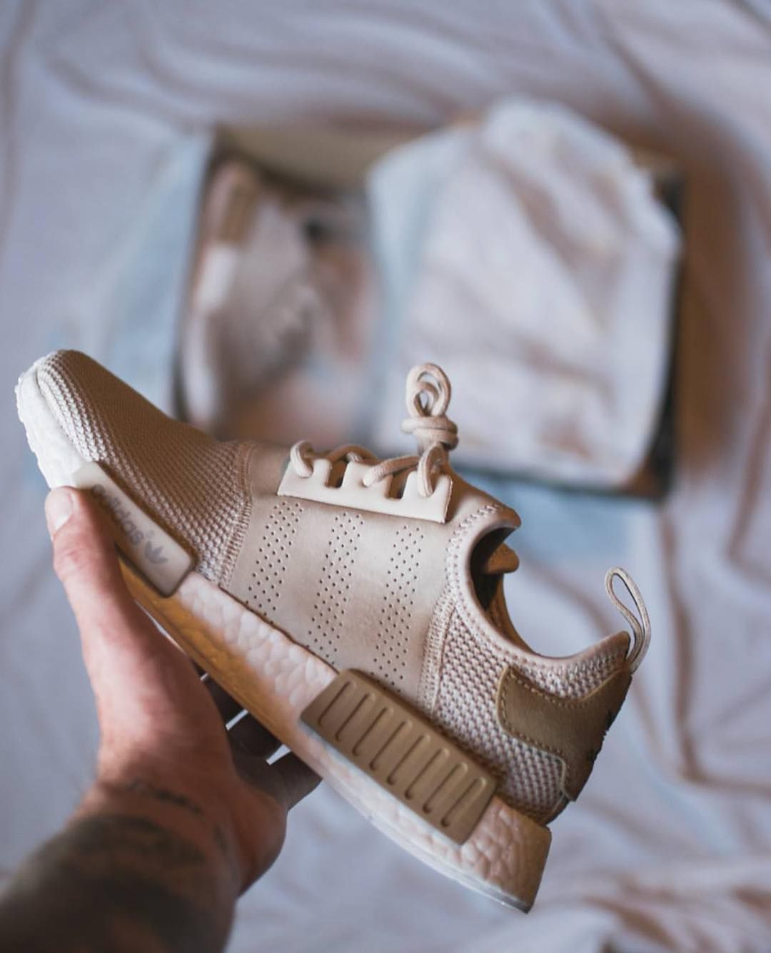 brand new fa1d1 1f00f Perforated Suede Panel NMDs #adidas #nmd #adidasoriginals ...