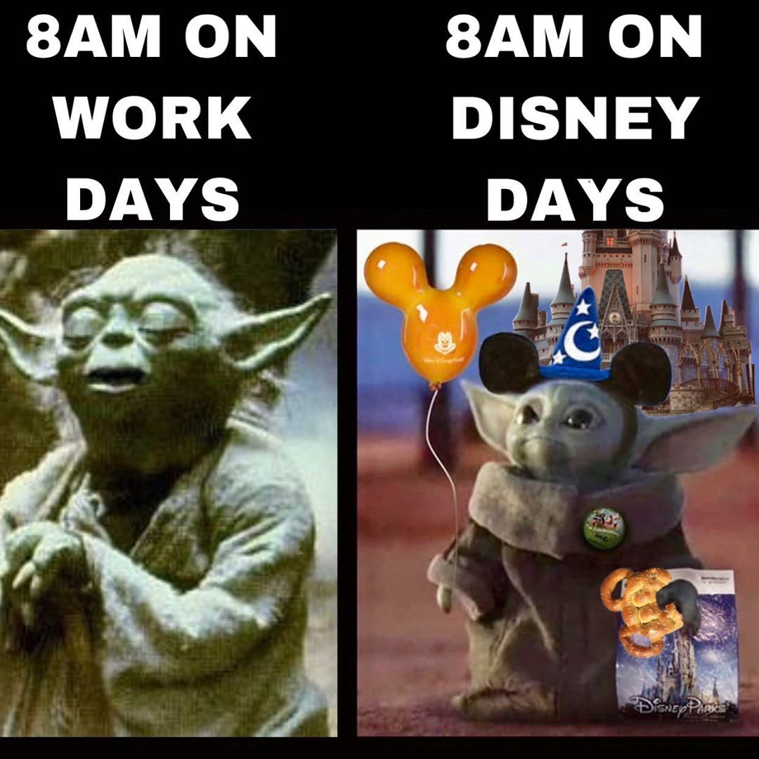 Joey Ponce On Instagram Literal Story Of My Life These Baby Yoda Memes Keep Getting Better And Better And Yoda Meme Funny Star Wars Memes Disney Day