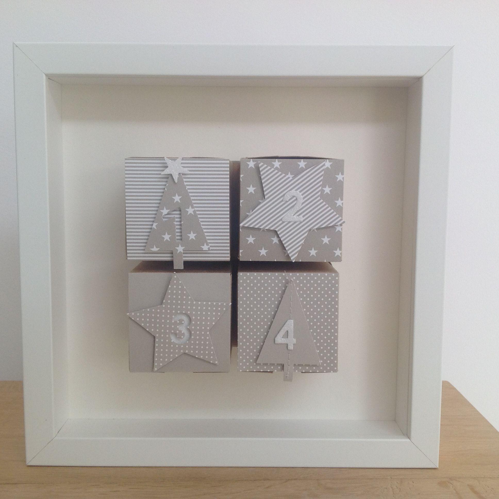 Adventskalender, Rahmen, Adventsboxen, Ikea, Stampin\'Up, Boxen ...