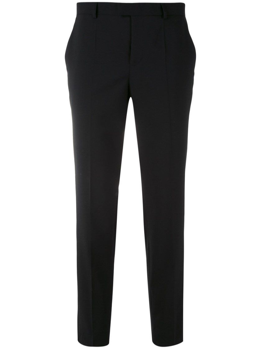 Countdown Package Online Outlet Classic tailored cropped trousers - Black Red Valentino Cheap Sale Order Sale Countdown Package OjXK9uq