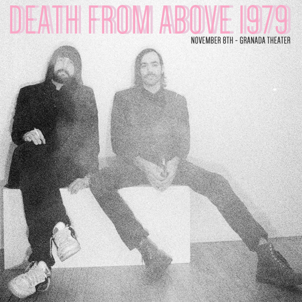 ON SALE NOW! Death From Above 1979, Tinariwen, & Galactic are all on sale over at http://granadatheater.com.