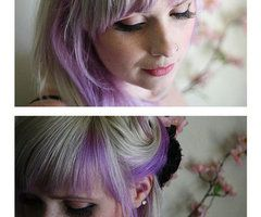 Yuuuupppp, @Megan Locke, I'm leaning towards lilac highlights instead of extensions!!!!