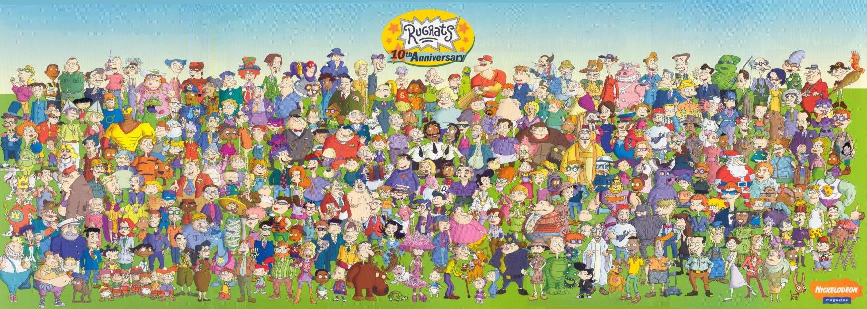 Rugrats (With images) Rugrats characters, Old