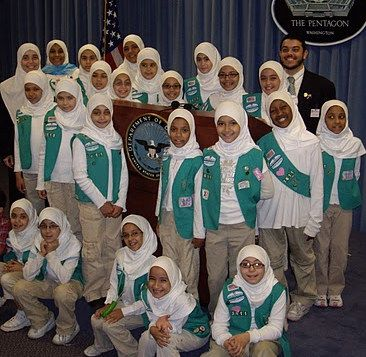 muslim girl scouts images
