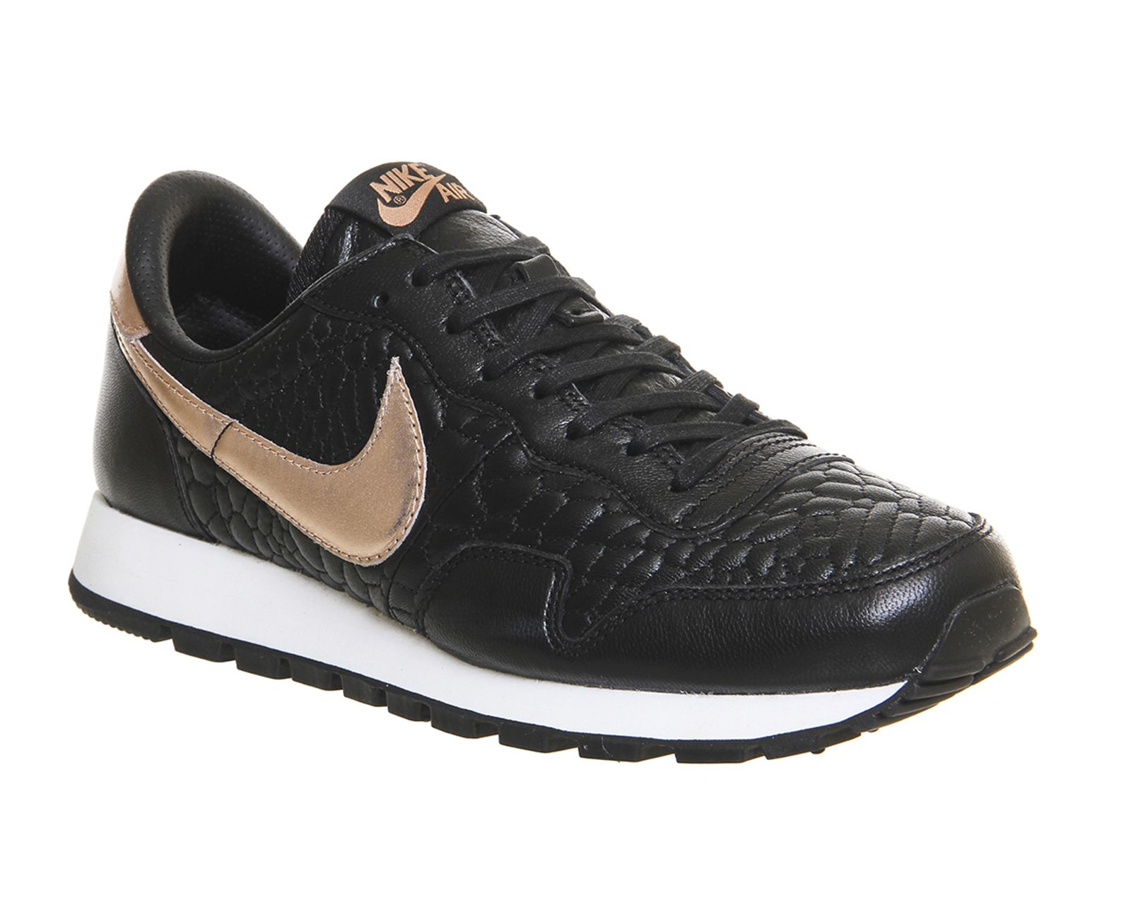 Buy Black Metallic Rose Gold Prem Quilted Nike Air Pegasus 83 from  OFFICE.co.