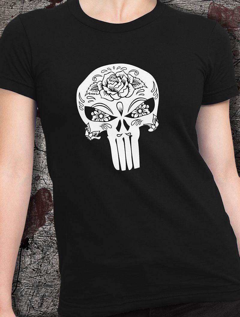 Camiseta Punisher para mujer. Como fan de Punisher no te puedes perder  nuestra camiseta de 10eab95a162a3