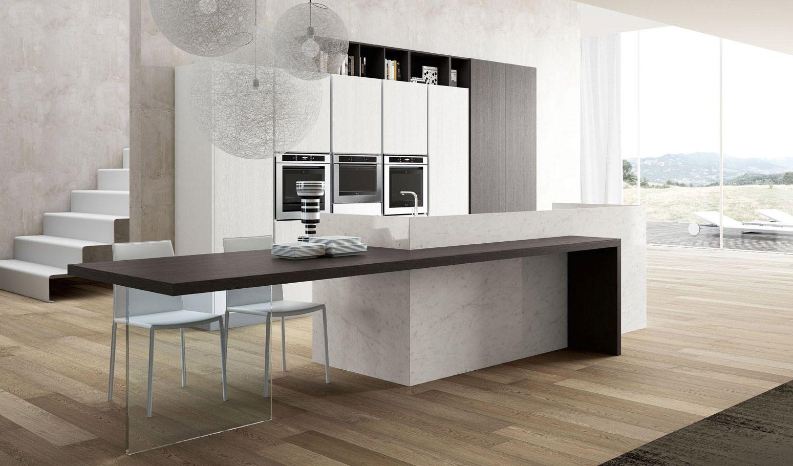 http://www.arredo3.com/it/cucine-moderne/PENTHA.html  Cucine Moderne - Pentha  Pinterest ...