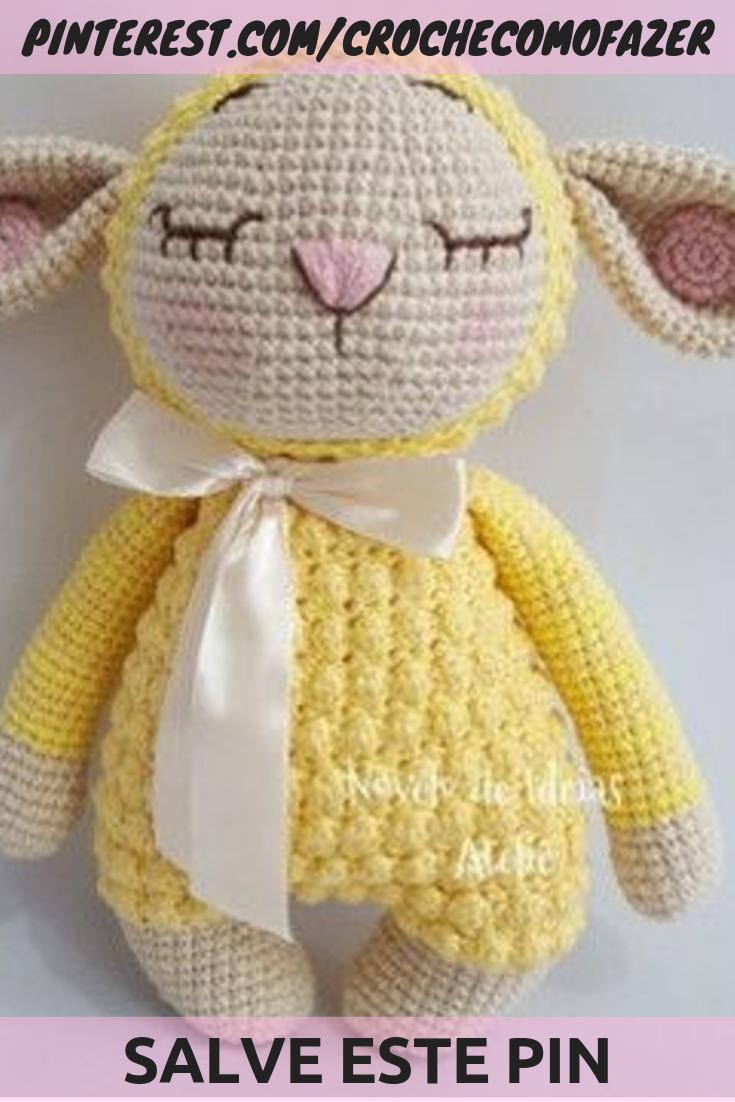Big Hello Kitty Amigurumi Free Pattern | Πλεκτές κούκλες, Κούκλες ... | 1102x735