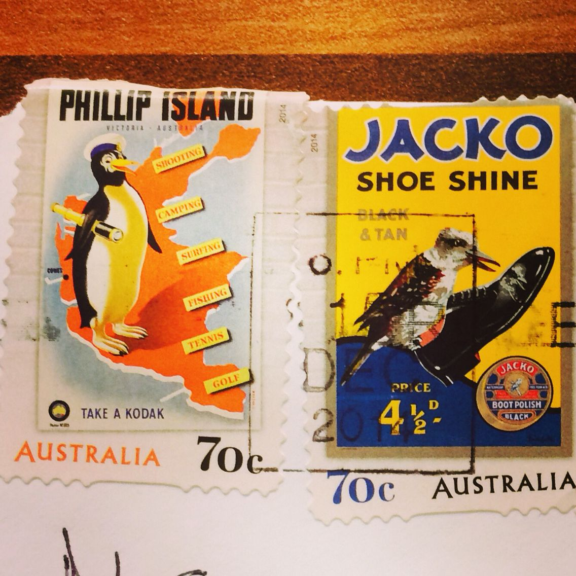 Good stamps from Oz!