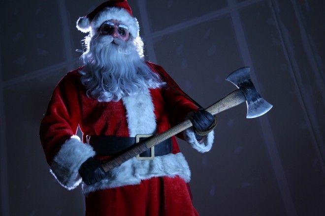 Santa Jim From Silent Night Scary Christmas Movies Christmas Horror Christmas Horror Movies