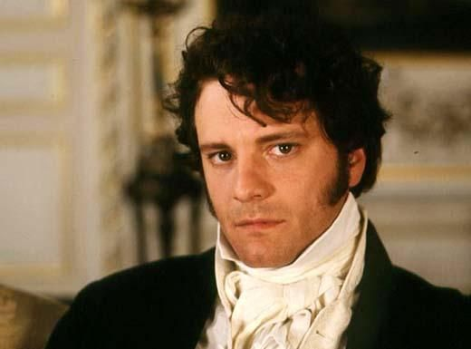Colin Firth in Mr. Darcy....