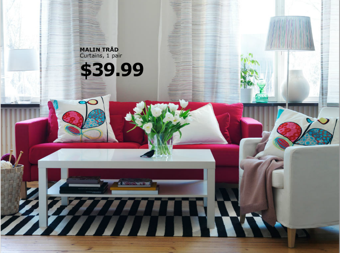 Ikea Red Couch Red Couch Living Room Living Room Red Red Sofa
